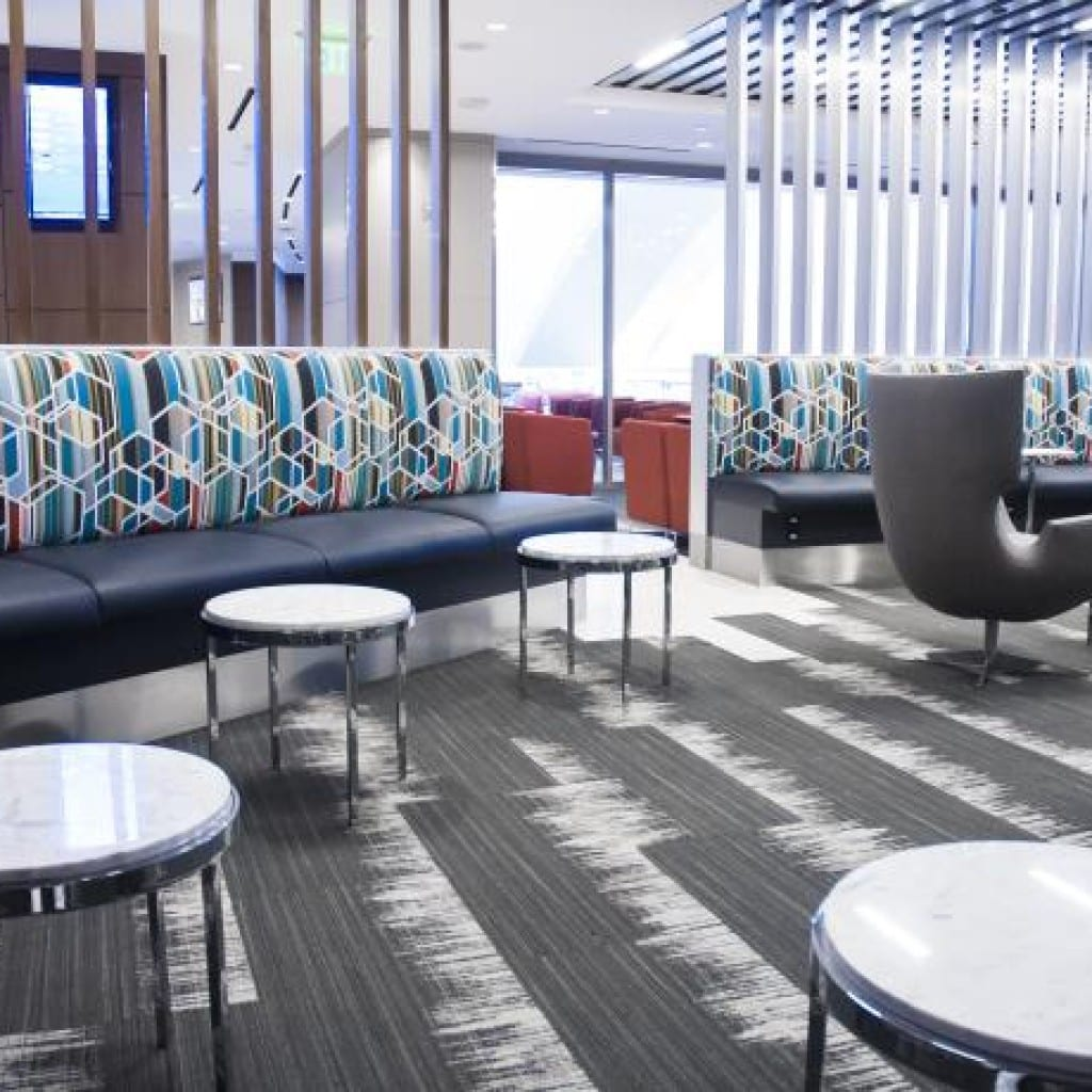 Lax Shared Use Lounge W E O Neil Construction