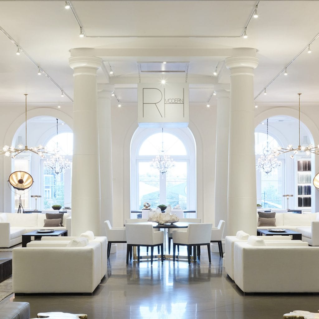 Restoration Hardware W E O Neil Construction