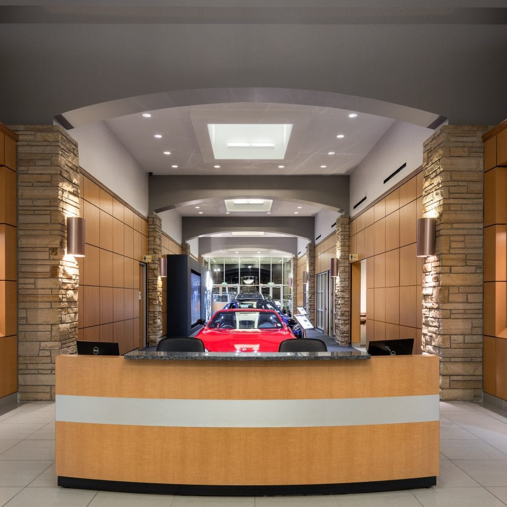 Mercedes Benz Of Westminster Showroom Expansion